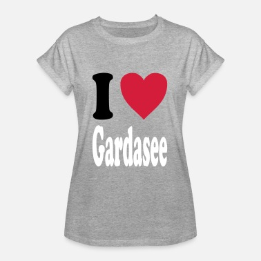 Lake Garda I love Lake Garda - Women's Oversize T-Shirt