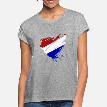Its Good To Be The King Netherlands Holland Amsterdam Heart Europe Soccer - Women's Loose Fit T-Shirt