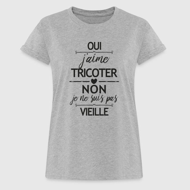 tricoter t shirt