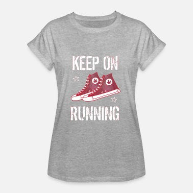 Keep on Running - Women's Oversize T-Shirt