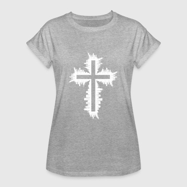 Cross design exceptional - Women's Oversize T-Shirt