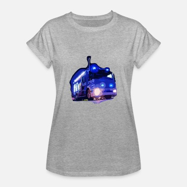 Engineering Life Fire Engine - Women's Oversize T-Shirt