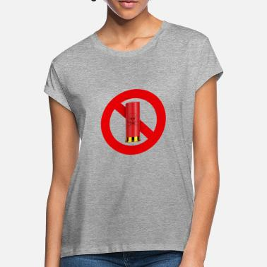 Interdiction Interdiction chasse - T-shirt oversize Femme