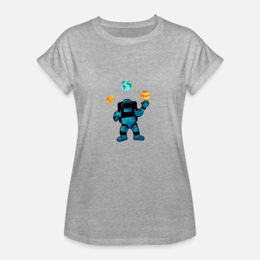 Astro Geek Astro Circus - T-shirt oversize Femme
