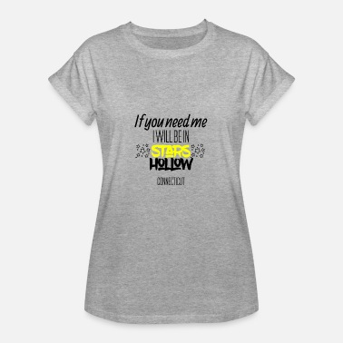 Stars If you need me I will be in Connecticut - Frauen Oversize T-Shirt