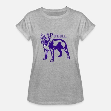 Thanx pitbull - Women's Oversize T-Shirt