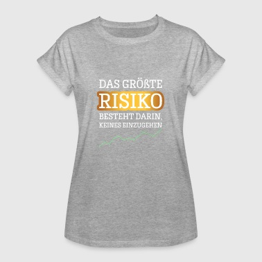 Risk Success Success Entrepreneur - Women's Oversize T-Shirt