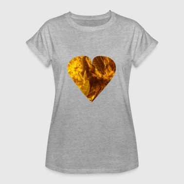 Cannabis-heart Cannabis Heart, Potheads, Marijuana, Legalize It! - Women's Oversize T-Shirt