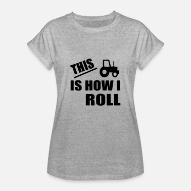 Roll Tide this is how i roll - Women's Oversize T-Shirt