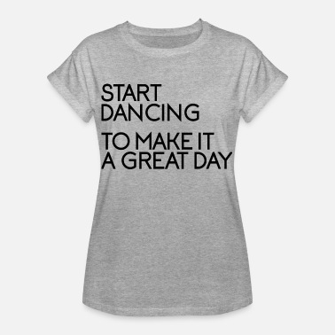Dance Instructor Dancing Makes Joy - Party Disco Dance Instructor - Women's Oversize T-Shirt