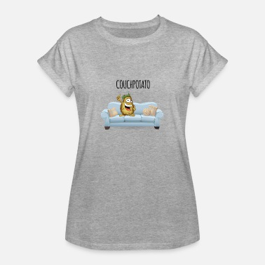 Couch Potato couch Potato - Women's Oversize T-Shirt