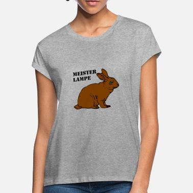 Master Lamp Hare master lamp - Women's Loose Fit T-Shirt