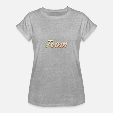 team_1 - Frauen Oversize T-Shirt