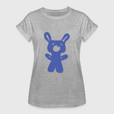 Bear for cuddling and cuddling - Women's Oversize T-Shirt