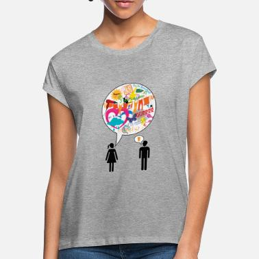Dialogue Male Female Dialogue 2 - Women's Loose Fit T-Shirt