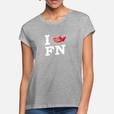 Ny I [ship] FN - Women's Loose Fit T-Shirt