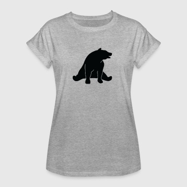 Big Deeper A Great Dark Bear - Women's Oversize T-Shirt