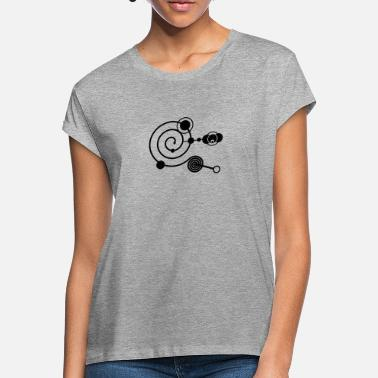 Enigma Crop Circle 1 - Women's Loose Fit T-Shirt