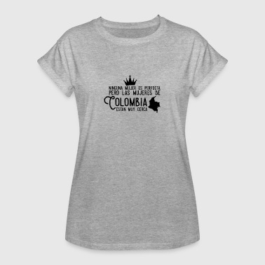 Colombia, Colombian woman design - Women's Oversize T-Shirt