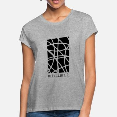 Design MINIMAL DESIGN - Women's Loose Fit T-Shirt