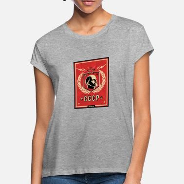 Urss Lenin Camiseta Holgada Mujer Comunista 7y6gybf 0wPnO8k