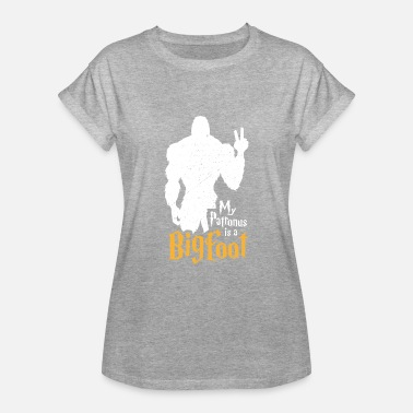 Patronus My patronus is a bigfoot - Women's Oversize T-Shirt