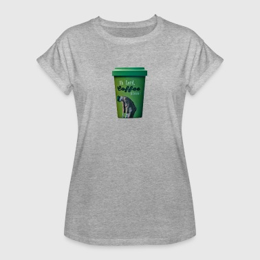 Coffee To Go Becher Coffee to go - Frauen Oversize T-Shirt
