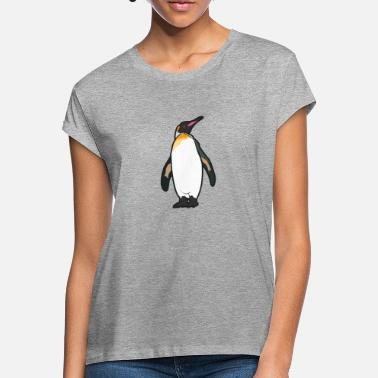 Tailcoat White penguin in black tailcoat - Women's Loose Fit T-Shirt