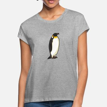 Tailcoat White king penguin in black tailcoat - Women's Loose Fit T-Shirt