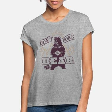 Animal Planet Bear Poke Animal Planet - Oversize T-shirt dam