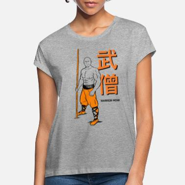 Shaolin Shaolin Warrior Monk - Vrouwen oversized T-Shirt