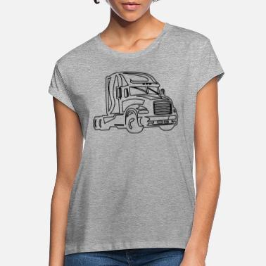 DAF Legendes Drive A DAF Camion Camionneur T-Shirt Noir Délavé Texte