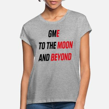 GME ToThe Moon And Beyond - Oversize T-shirt dame