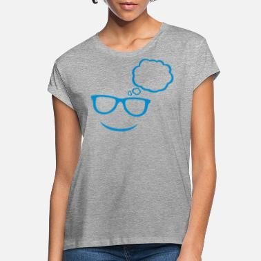 Speech Bubble sunglasses bubble - Women's Loose Fit T-Shirt
