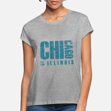 Chicago Bears Chicago Illinois - Women's Loose Fit T-Shirt