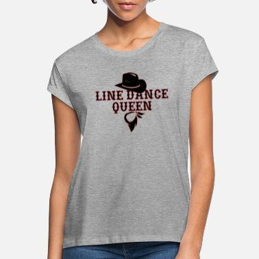 Dance Line Dance, Line Dance, Line Dancing, Gift, - Women's Loose Fit T-Shirt