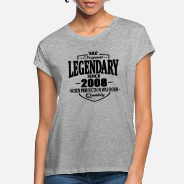 Legendär Legendär seit 2008 - Frauen Oversize T-Shirt