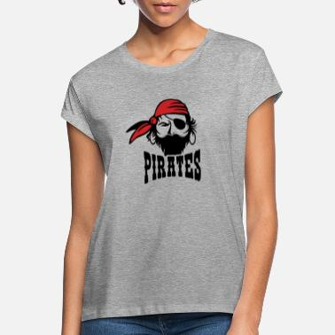 Smutje Pirate sailor Smutje with headscarf - Women's Loose Fit T-Shirt