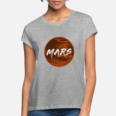 Occupy Occupy Mars - Frauen Oversize T-Shirt