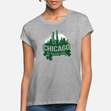 Chicago St Patrick Chicago - Frauen Oversize T-Shirt