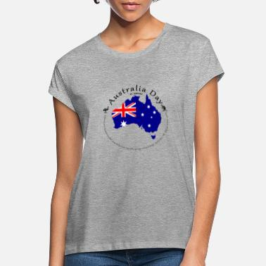 Australia Flag Women/'s Ladies Lady Fit T Shirt