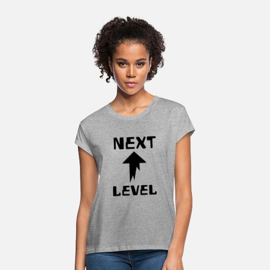 Play T-Shirts - NEXT LEVEL - Women's Loose Fit T-Shirt heather grey