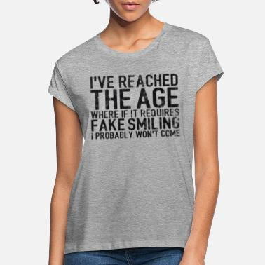 Birthday 20 30 40 50 60 Birthday Gift Funny saying - Women's Loose Fit T-Shirt