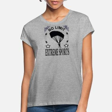 Parachute jump I love extreme sports gift - Women's Loose Fit T-Shirt
