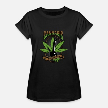 Medical Cannabis Medical Herb IV - Vrouwen oversize T-shirt