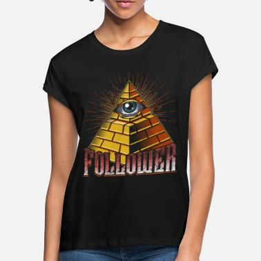 Pyramid All seeing eye - Women's Loose Fit T-Shirt