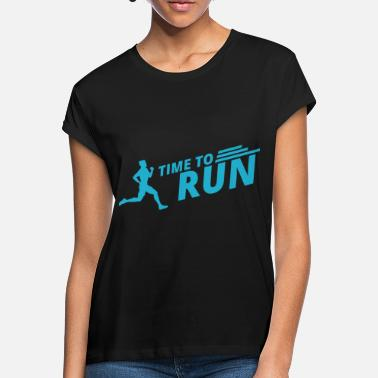 Run Runners run jogging gift sports saying joggers - Women's Loose Fit T-Shirt