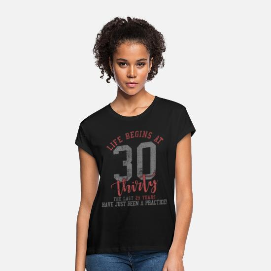 Gift Idea T-Shirts - 30 - Women's Loose Fit T-Shirt black