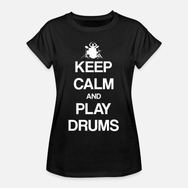 Drumming Drums drums drums - Women's Oversize T-Shirt