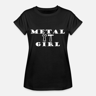 Power Metal METAL GIRL Heavy Metal - Maglietta ampia da donna